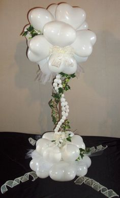 Wedding topiary by Fiona Fisher.  I love it