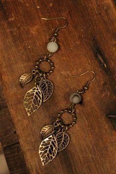 Earrings Handmade Home :: Jewelry :: Earrings :: Farm Girls Twin Sprigs Earrings Wire Jewelry, Boho Jewelry, Jewelry Crafts, Beaded Jewelry, Jewelery, Jewelry Design, Fashion Jewelry, Jewelry Box, Vintage Jewelry