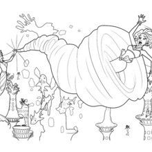 Let Your Imagination Soar And Color This ERIS WHIRLPOOL Barbie Printable With The Colors Of Choice