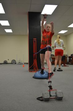 HS pitcher preparing for a rockin season! This exercise will generate TONS of explosiveness off the mound drastically create POP in her pitch increase her MPH improve wrist snap and aid in injury prevention. DISCOUNT OFFER BELOW! This exercise is Softball Pitching Drills, Softball Workouts, Fastpitch Softball, Volleyball Skills, Softball Coach, Girls Softball, Softball Stuff, Softball Cheers, Softball Crafts