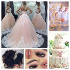 Blush Pink Quinceanera Theme | Quinceanera Theme | Quinceanera Ideas |