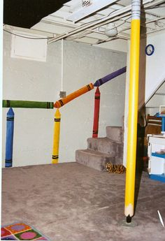 http://www.smartdecorpainting.com/images/Childrenrooms/Crayon-game-room.jpg