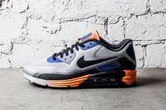 outlet store 487c8 4afc6 NIKE AIR MAX 90 LUNAR GAME ROYAL WOLF GREY