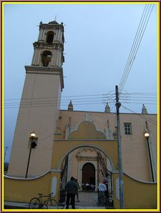 Parroquia San Andrés Apóstol (Acatlán) Estado de Veracruz,México by Catedrales e Iglesias, via Flickr