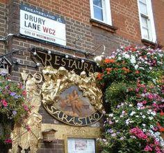 Sarastro Restaurant, Covent Garden, London