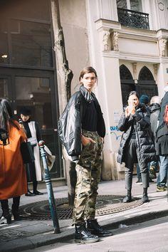 Harrison Tsui's Best Street Style From Paris Fashion Week FW18
