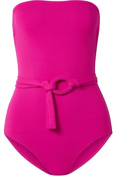 b00d64a8a9 Eres   Studio Expo belted bandeau swimsuit Bikini Beach, Bikini Swimwear,  Bandeau Swimsuit,