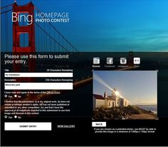 Bing celebrates World Photography Day with a Hometown Homepage Photo Contest. http://selnd.com/13Mu9lX #photography
