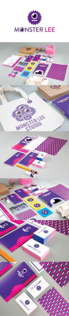 monster lee character design  #branding #identity #design #monster #character