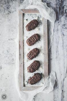Batoniki kokosowe w czekoladzie. | Coconut bars. | Yummy Lifestyle