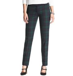 Marisa Plaid Ankle Pants