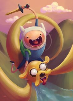 Adventure Time by Shyh Chai / Blog