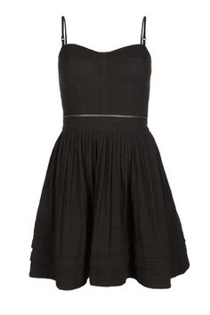 The perfect little black dress if you ask me - by AllSaints Anglais, $195.00