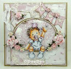 DeeDee´s Card Art - Baby Tilda