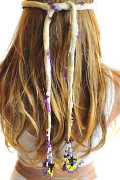 Headband headpiece Crochet Lace Lariat Necklace by selenayy