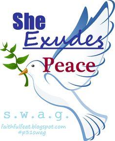 S.W.A.G.:She Exudes Peace #marriage #Spouse #love #maritalaction