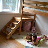 Un lit mezzanine pour enfants DIY