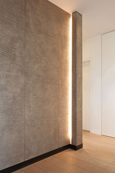 corridor lighting around corner, led strip lighting Hidden Lighting, Cove Lighting, Indirect Lighting, Strip Lighting, Interior Lighting, Modern Lighting, Lighting Design, Lighting Ideas, Corridor Lighting