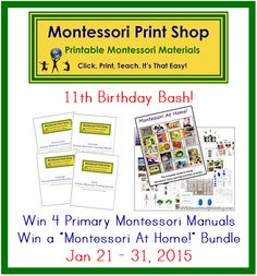 MPS is having tremendous giveaways to celebrate their 11th year! Enter to win! Teacher heaven.
