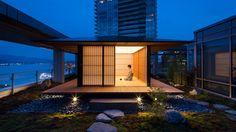 Kengo Kuma teahouse in Vancouver