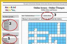 Online - Übungen Deutsch