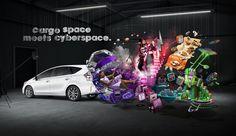 Toyota Prius V campaign by Serial Cut, via Behance
