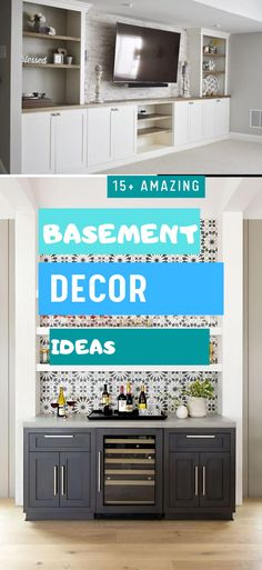 Basement Decor ! Tips For Styling Your Dream Basement #basementdesign #basementideas Basement Decorating, Basement Remodeling, Decoration, Design Ideas, Classy, Decor Ideas, Elegant, Amazing, Unique