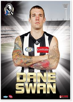 Dane Swan - the best player in the AFL. Collingwood Football Club, Best Player, Magpie, Good Old, Football Players, Swan, Champion, Sport, Soccer Players