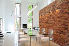Brick Effect Wall Cladding Interior - Brick Photos Collections Wall Cladding Interior, Wall Cladding Tiles, Brick Cladding, Cladding Panels, Brick Paneling, Timber Panelling, Faux Brick, Exposed Brick, Brick Effect Panels