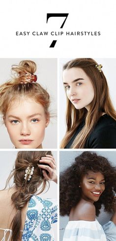 7 Easy Hairstyles You Can Do With A Claw Clip Hair Hair Styles pertaining to size 736 X 1519 Cute Hairstyles With Hair Clips - Hairstyles play a critical Clip Hairstyles, Easy Hairstyles For Long Hair, Great Hairstyles, Trending Hairstyles, Weave Hairstyles, Hairstyle Ideas, Hair Ideas, Hairdos, Hairstyles 2018