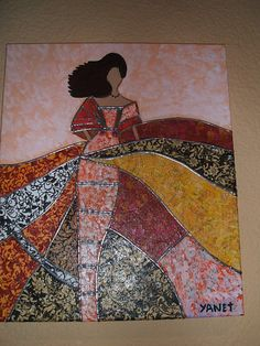 Black Girl Art, Art Girl, Mosaic Flowers, Gourd Art, Mosaic Designs, Scrappy Quilts, Artist Painting, African Art, Quilting Projects