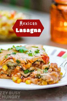 Mexican Lasagna Quick Family Meals, Mexican Lasagna, Kid Friendly Dinner, Healthy, Food, Party, Mexican Lasagne, Essen, Meals