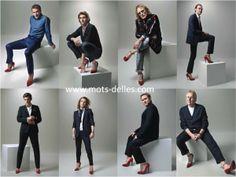 Le féminisme en escarpins: 8 hommes célèbres posent en talons hauts en vue du 8 mars pour Marie-Claire #Pinterest Marie Claire, Character Shoes, 8 Mars, Dance Shoes, Amazing, Fashion, Pumps, Heels, Tops