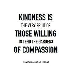 #randomthoughtsofaservant   #kindness   #quote