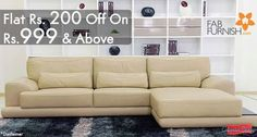 Flat Rs. 200 off on Rs.999 and above at fabfurnish.com! CLAIM NOW : http://www.couponcanny.in/fabfurnish-coupons/