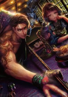 Anime People, People Art, Yakuza Anime, Gang Road, Anime Gangster, Love Fight, Banana Bus Squad, Cyberpunk Character, Fantasy Warrior