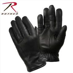 Black Warm Fleece Lined Gloves Rothco Cold Weather Winter Gloves