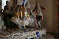 Slifer House Museum Collection - Victorian 18th Century Ceramic Figurines