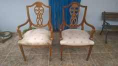 antiguos sillones ingleses sheraton biedermeier $$ x unidad