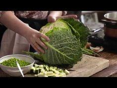 Grøn minestrone med Rug Fusilli - Il Fornaio