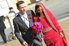 Bridal Bouquet. Indian Wedding in Siena.