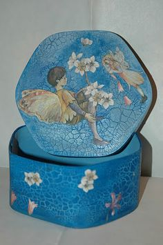 decoupage hat boxes❤❤❤