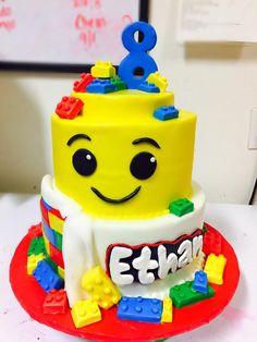 Bolo Lego: 50 Ideias de Decoração Incríveis para a Festa Bolo Lego, Birthday Cake, Desserts, Design, Decorating Ideas, Cakes, Party, Birthday Cakes, Deserts