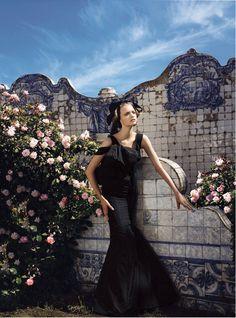 Gemma Ward photographed by Mario Testino