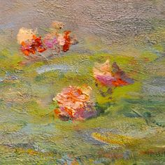 BE△R - lonequixote:   Water Lilies, 1907 (detail) by...