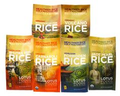 Lotus Foods   Lotus Rice Sampler   Sample our delicious specialty rices in this convenient rice sampler. Includes: Forbidden Rice®, Bhutan Red Rice, Organic Jade Pearl™ Rice, Organic Carnaroli Rice, Organic Volcano Rice™ and Organic Madagascar Pink Rice™. Gift set includes a sage green gift box and gold ribbon.