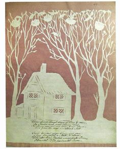 Another 'Cottage' themed valentine by Eliz. Cobbold