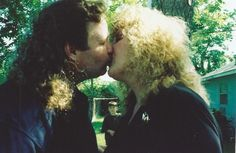 Since she got remarried, her son was afraid he might get lost… in all of that hair.