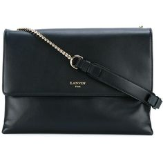 Lanvin Sugar Shoulder Bag (5.265 RON) ❤ liked on Polyvore featuring bags, handbags, shoulder bags, real leather shoulder bags, real leather handbags, lanvin purse, leather purses and shoulder bag purse