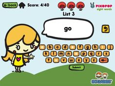 Sight Words & Spelling with Pixopop - a very good tool for educators and parents of children learning to read and spell. Can also be used for students learning English as a second language.  Original Appysmarts score: 80/100